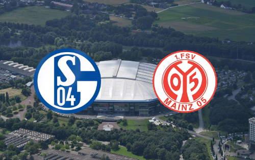 Матч Шальке 04 - Майнц 05 немецкой Бундеслиги 2021 5 марта
