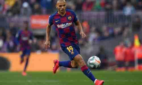 Мартин Брейтуэйт датский футболист, нападающий испанского клуба Барселона.