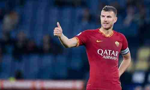 Эдин Джеко - боснийский футболист, нападающий. Игрок итальянского клуба «Рома»
