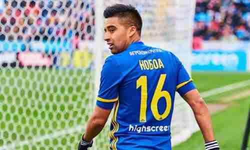 Кристиан Нобоа - Эквадорский футболист, полузащитник российского клуба «Сочи»