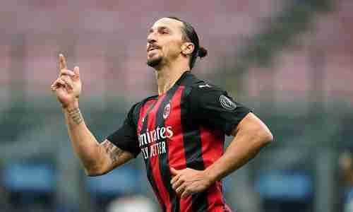 Златан Ибрагимович - шведский футболист, нападающий итальянского клуба «Милан»