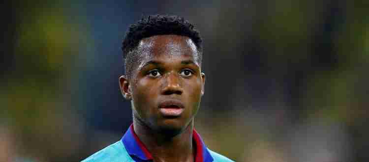 Ансу Фати - испанский и гвинейский футболист, вингер клуба «Барселона»