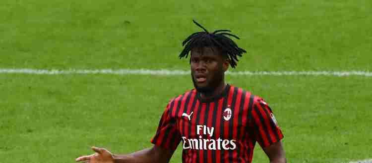 Франк Кесси - Ивуарийский футболист, полузащитник клуба «Милан»