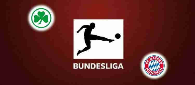 Прогноз на матч Гройтер - Бавария 24 сентября 2021
