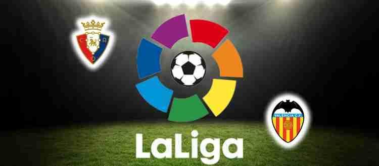 Прогноз на матч Осасуна – Валенсия 12 сентября 2021