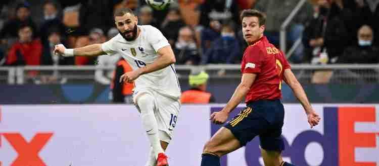 Матч Испания Франция финал