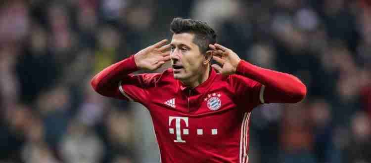 Роберт Левандовски - Польский футболист, нападающий немецкого клуба «Бавария»